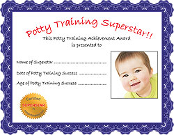Potty Training Superstar